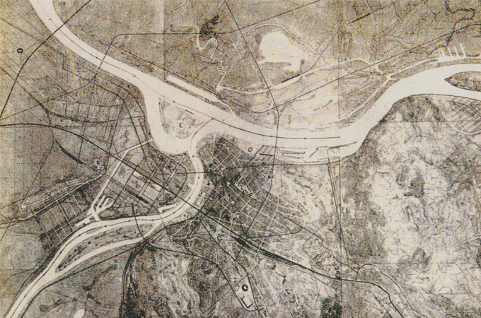 Draft Master Design of the Greater Belgrade Area, 1948
